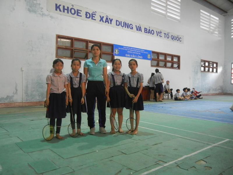 Ban viên GĐPT thành phố Quảng Ngãi tổ chức Giải cầu lông