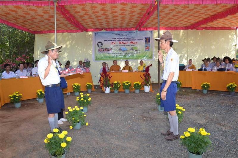 GĐPT Bà Rịa Vũng Tàu tổ chức Liên trại Huấn luyện A Dục - Lộc Uyển