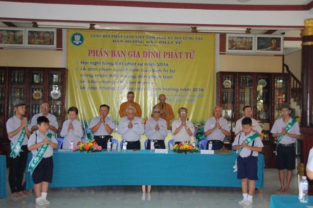Bà Rịa Vũng Tàu: Hội nghị tổng kết năm 2016 và các hoạt động đầu năm mới