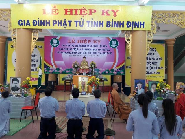 Phân Ban GĐPT Bình Định tổ chức Hiệp kỵ
