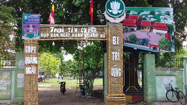 GĐPT QUẢNG NGÃI: Tưng bừng lễ khai mạc trại Tâm Chánh