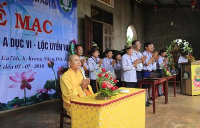 Đắk Lắk: Bế mạc trại huấn luyện liên trại Lộc Uyển VIII và A Dục VI