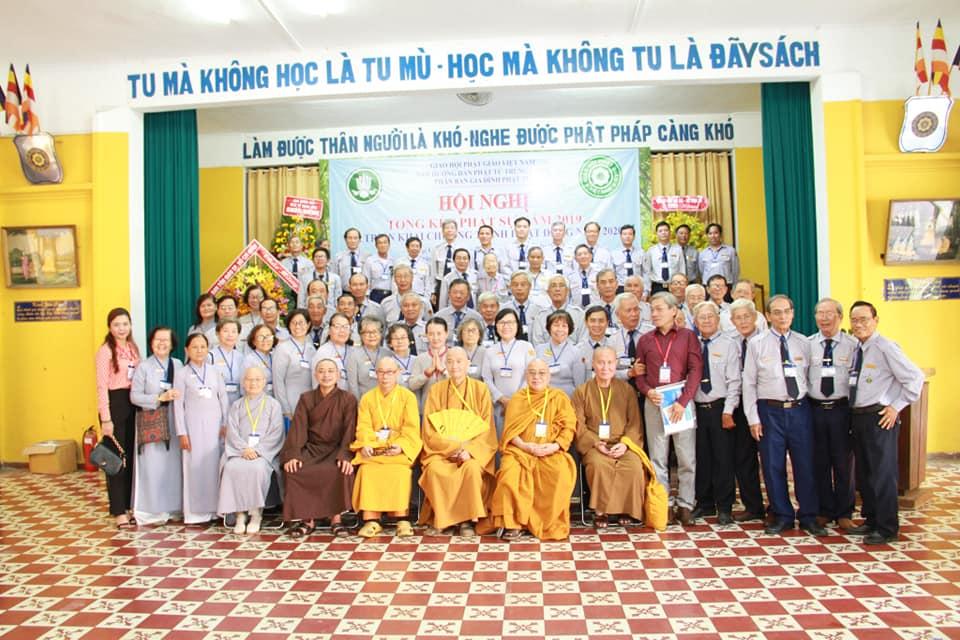 Hội  nghị tổng kết Phật sự năm 2019