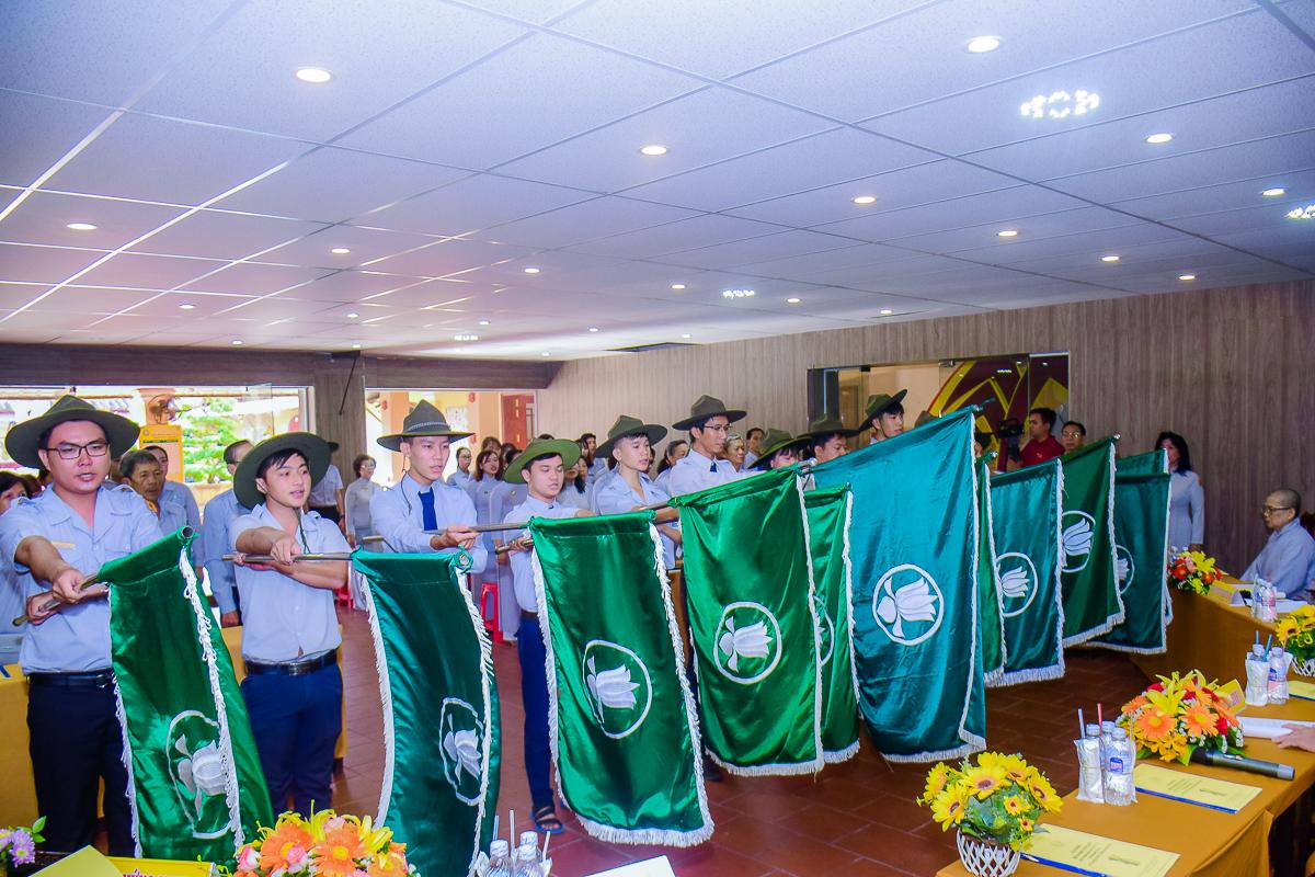 Gia Đình Phật Tử Kiên Giang tổng kết hoạt động phật sự năm 2019