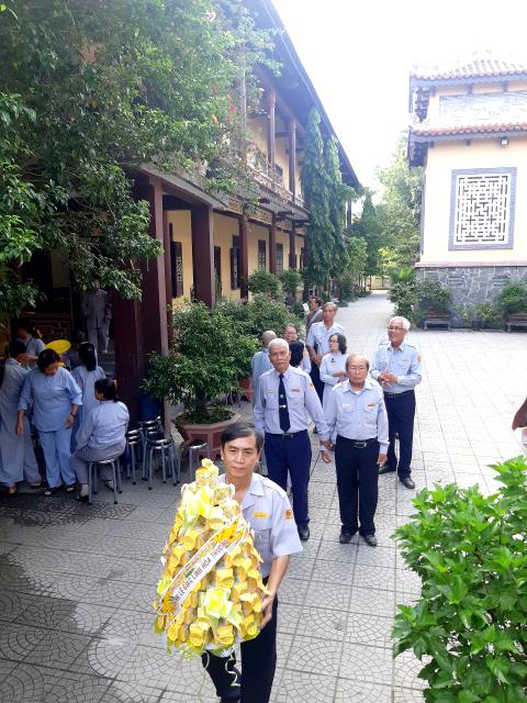 Thường trực Ban Hướng dẫn PB GĐPT Trung ương dự lễ húy nhật ân sư Gia đình Phật tử