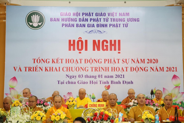 Hội nghị tổng kết công tác Phật sự năm 2020