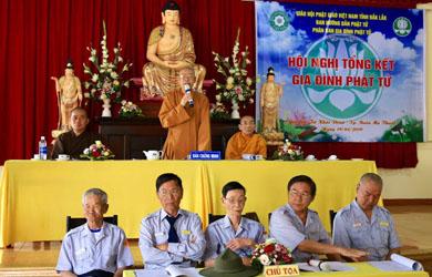GĐPT Đắk Lăk tổng kết hoạt động năm 2018 & phương hướng hoạt động năm 2019